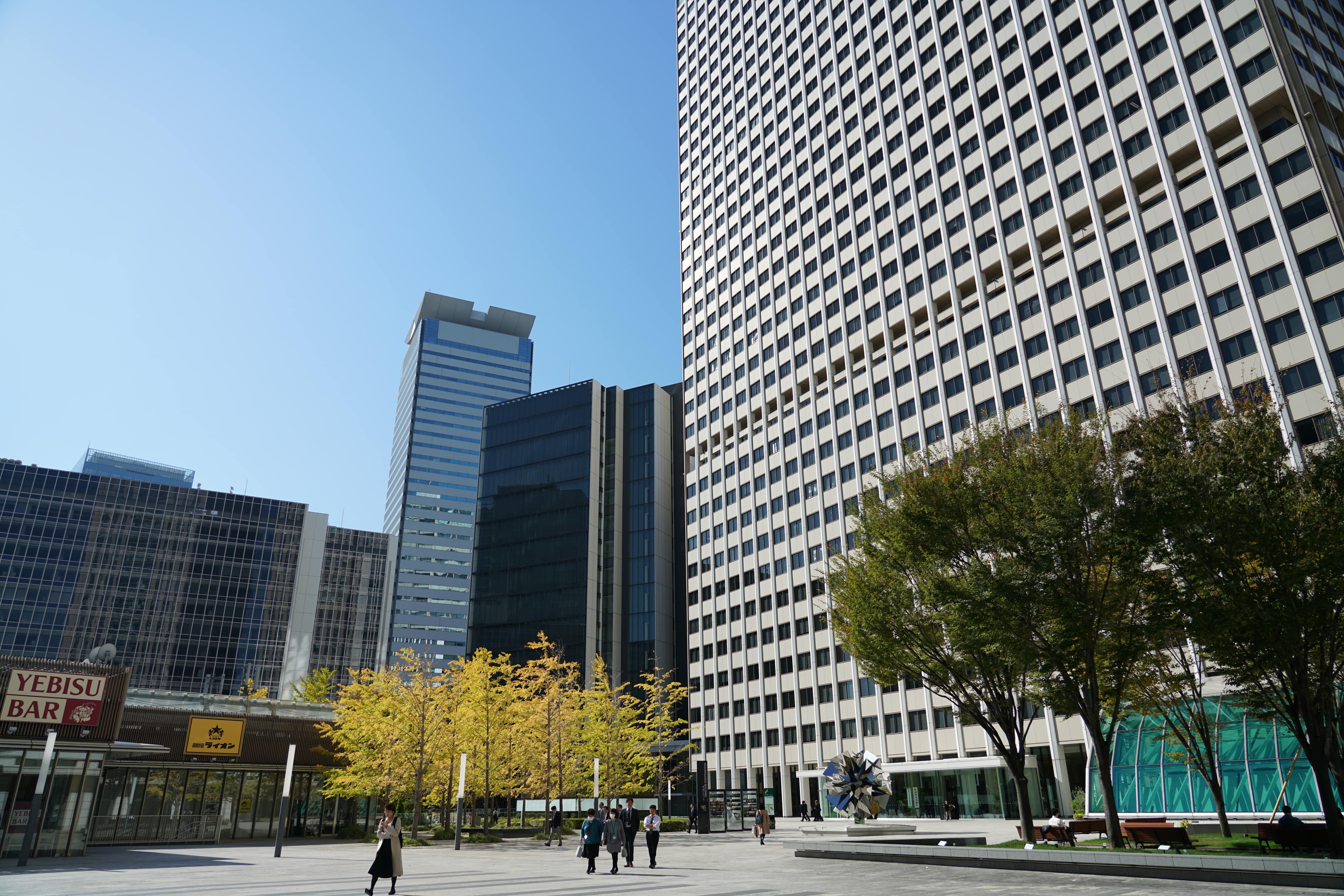 紀尾井町ビルは、26階建ての高層ビルです。麹町から2分、四ツ谷駅から8分です