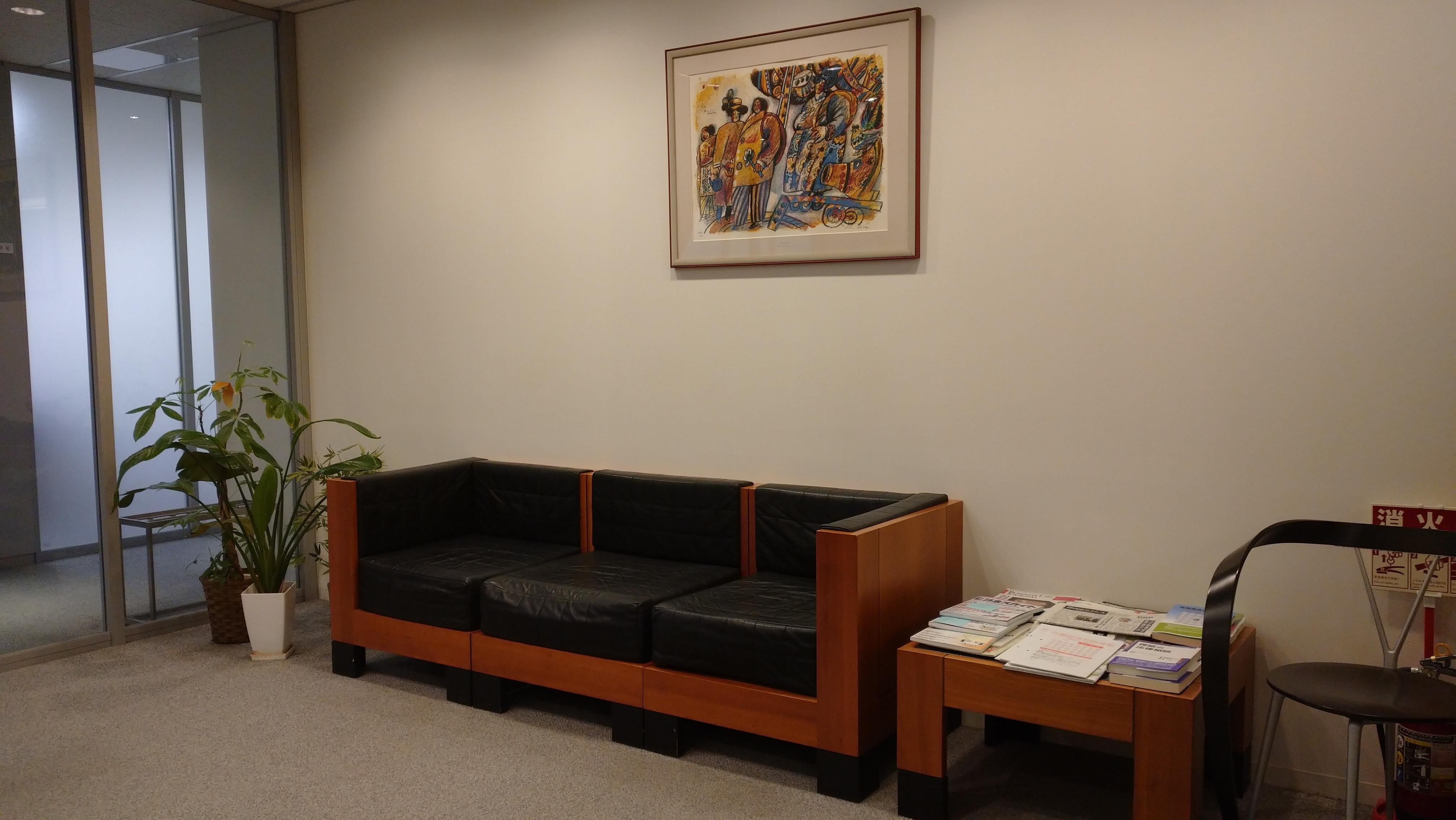 東京ジェイ法律事務所の標識がありますので、入り口のガラスドアまでお進みノックしてください。